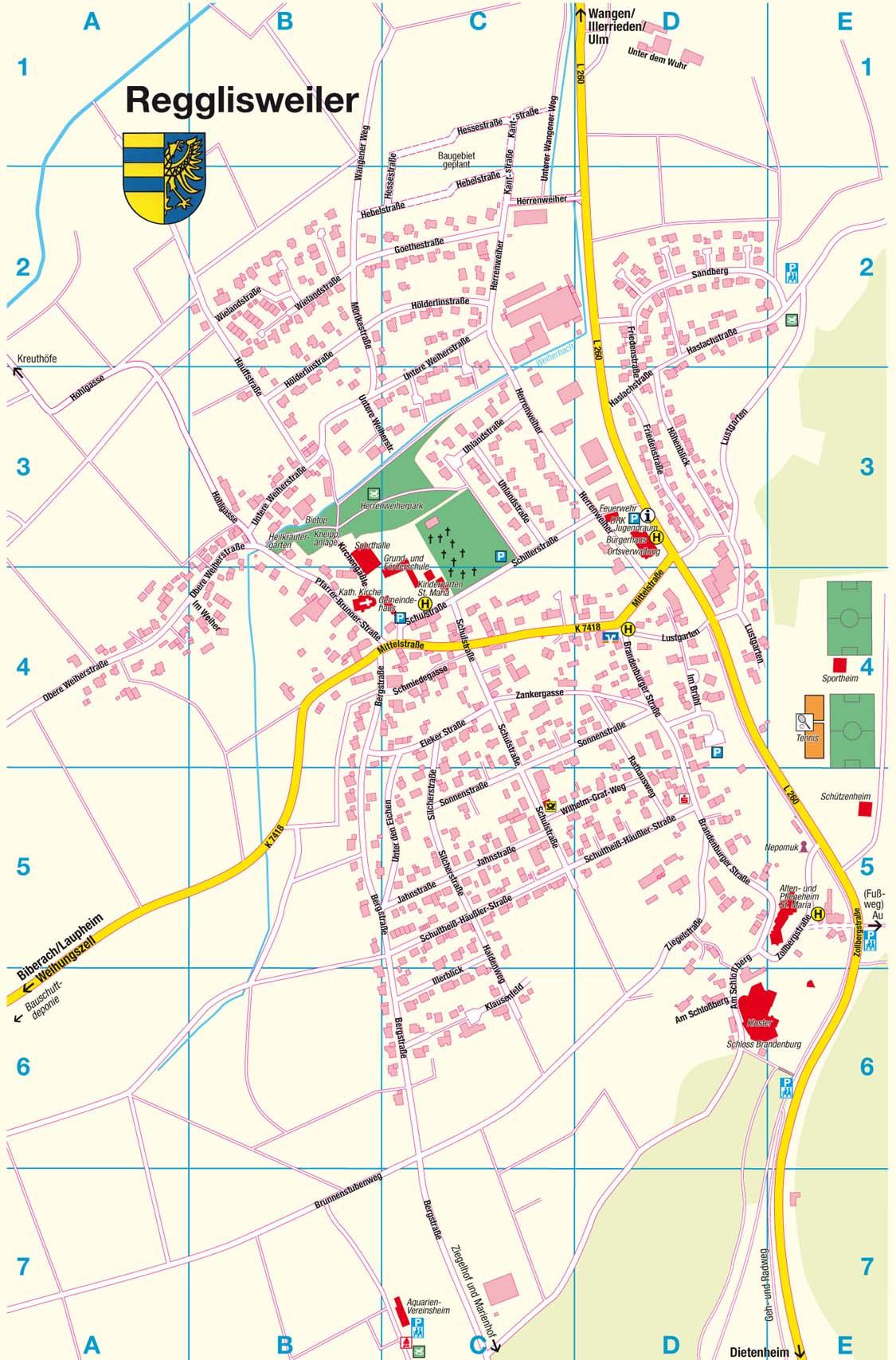 Anfahrt / Stadtplan
